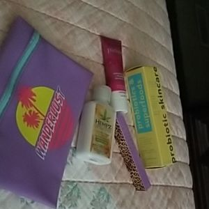 Ipsy july glam bag with 4 items